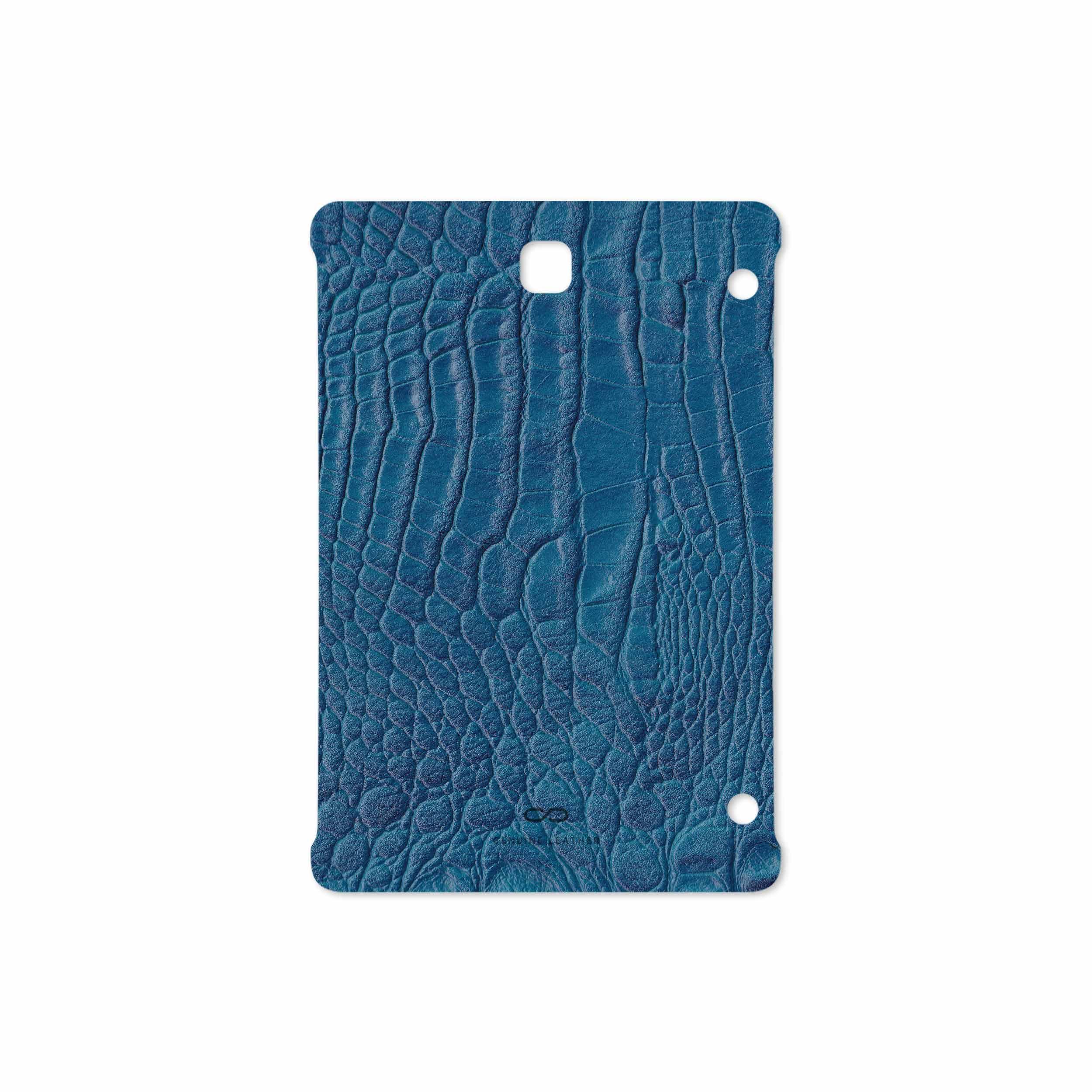 بررسی و خرید [با تخفیف]                                     برچسب پوششی ماهوت مدل Blue-Crocodile-Leather مناسب برای تبلت سامسونگ Galaxy Tab S2 8.0 2016 T719N                             اورجینال