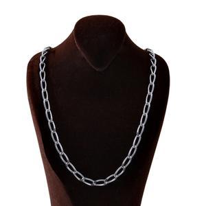 زنجیر نقره مردانه بازرگانی میلادی کد ZR_014