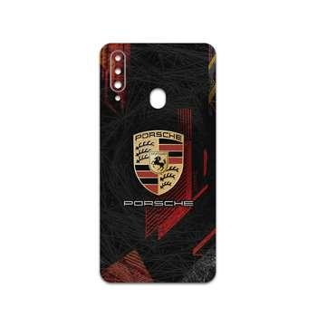 برچسب پوششی ماهوت مدل Porsche مناسب برای گوشی موبایل سامسونگ Galaxy A20s