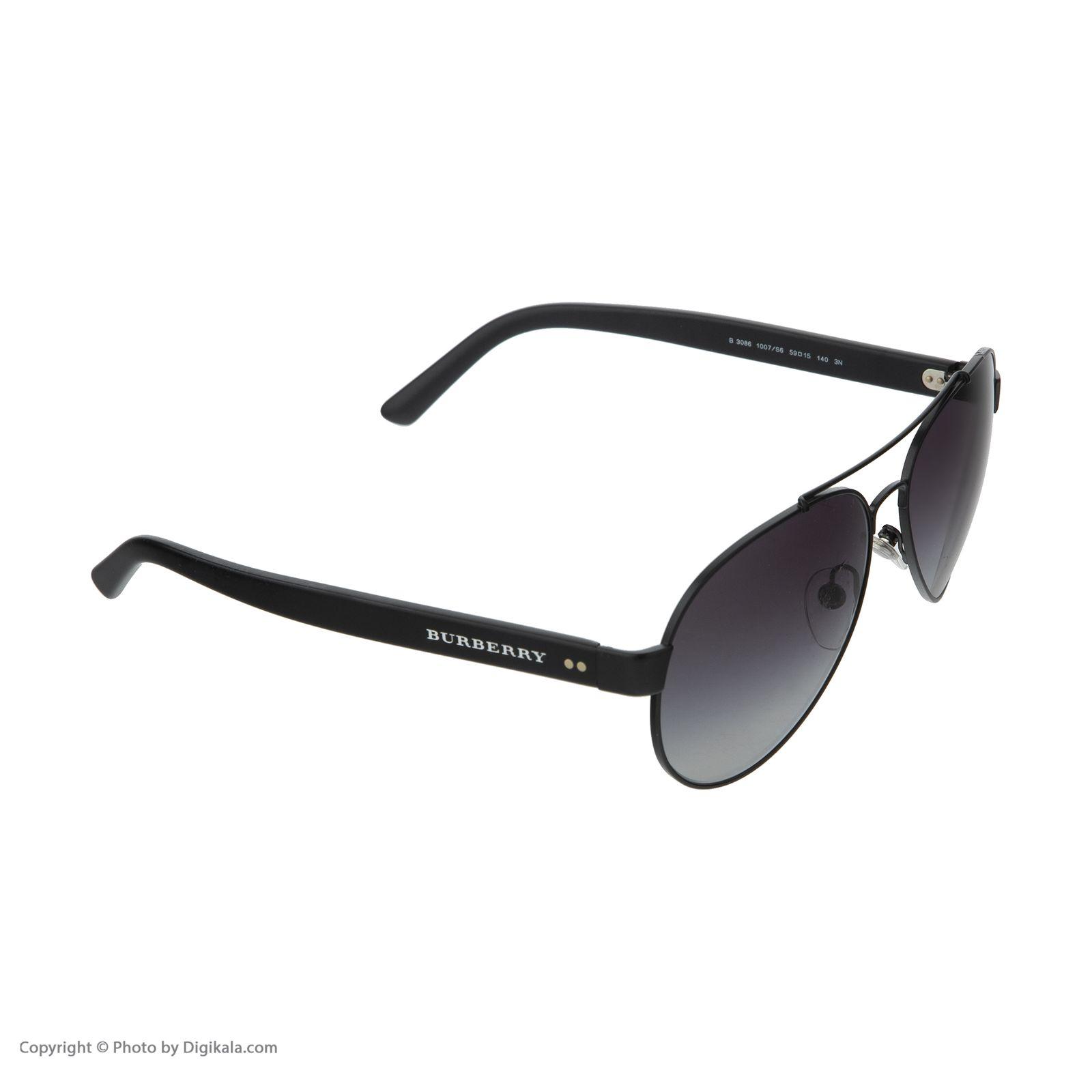 عینک آفتابی زنانه بربری مدل BE 3086S 1007S6 59 -  - 6