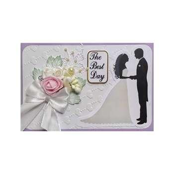 کارت پستال مدل عروسی و عقد طرح تبریک روز خاص