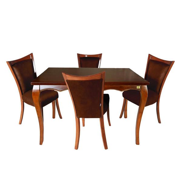 میز و صندلی ناهار خوری چوبکو مدل 644_4