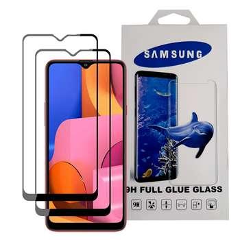 محافظ صفحه نمایش مدل YGA20 مناسب برای گوشی موبایل سامسونگ Galaxy A20s بسته دو عددی