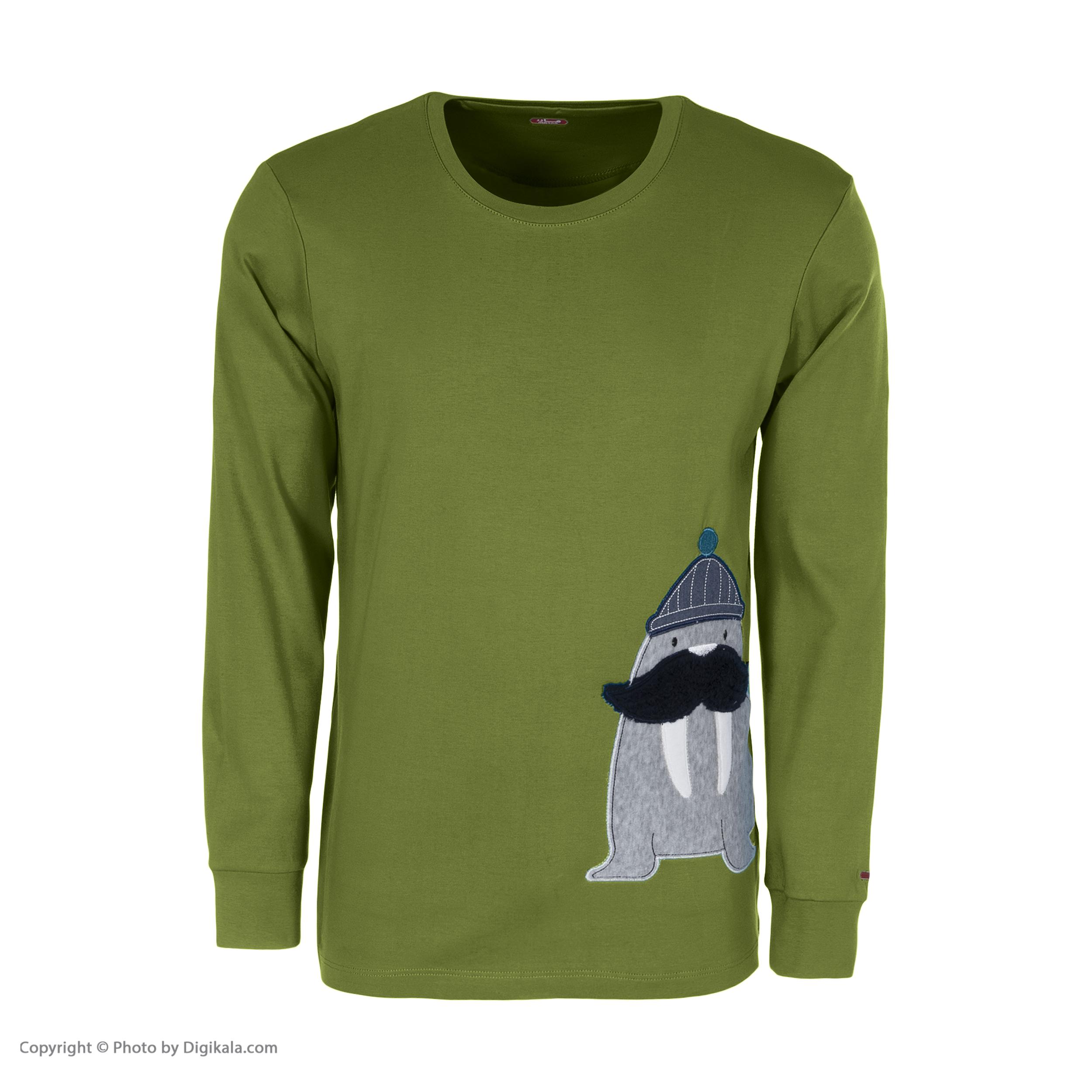 ست تی شرت و شلوار مردانه مادر مدل 2041305-42