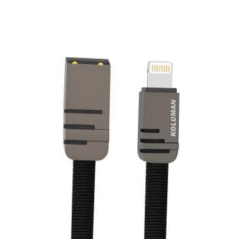 کابل تبدیل USB به لایتنینگ کلومن مدل kd-16 طول 1 متر
