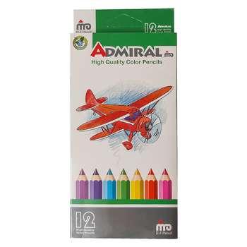 مداد رنگی 12 رنگ ادمیرال کد 20