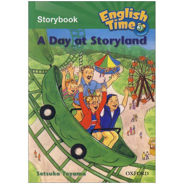 خرید                      کتاب English Time 3 Story Book اثر setsuko toyama انتشارات زبان مهر