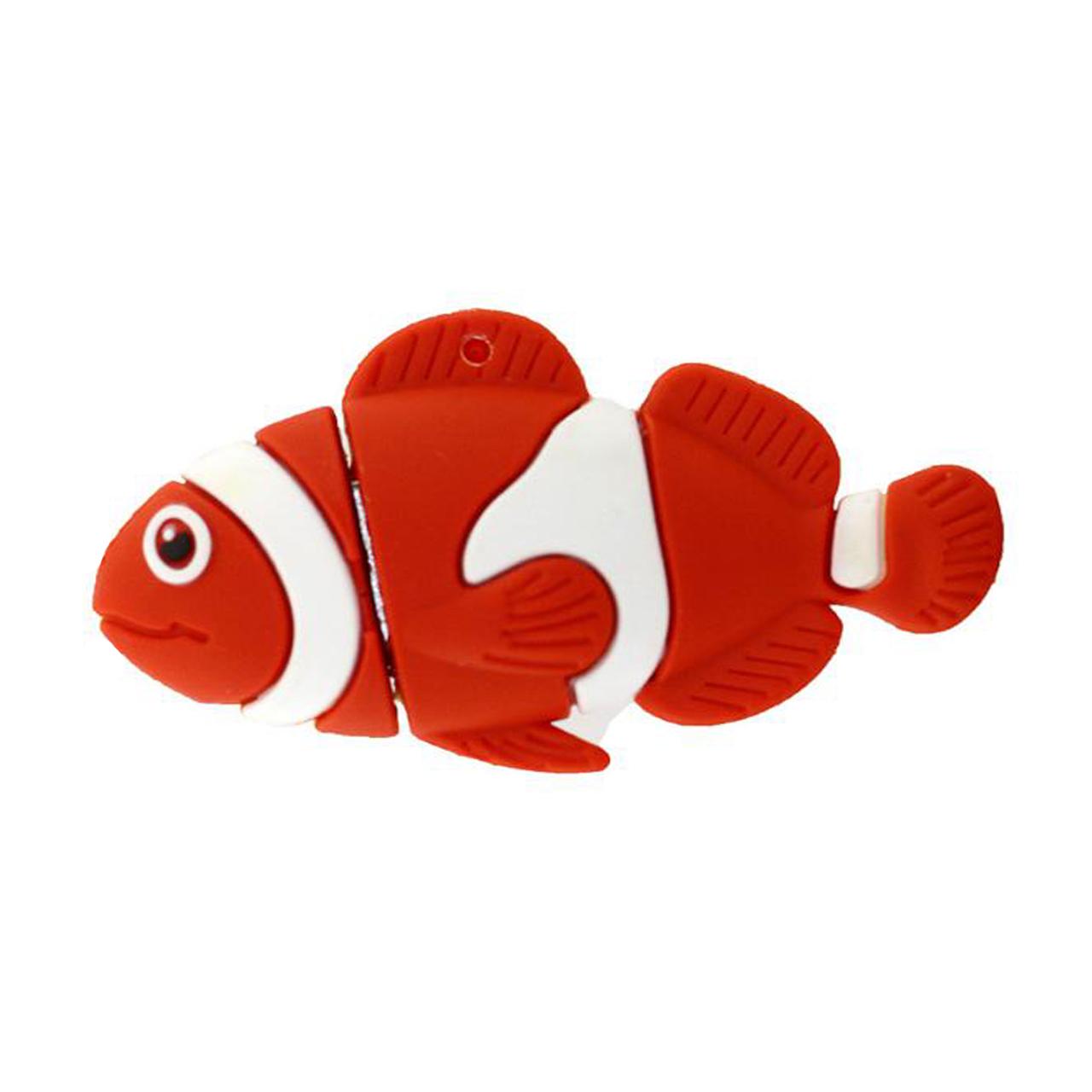 بررسی و {خرید با تخفیف} فلش مموری طرح ماهی مدل UL-Fish01 ظرفیت 32 گیگابایت اصل