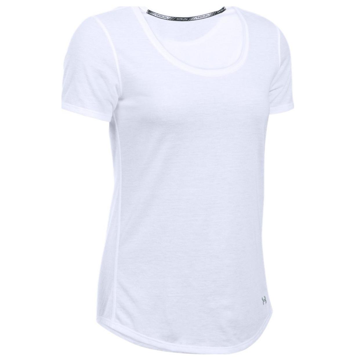 تی شرت آستین کوتاه ورزشی زنانه آندر آرمور مدل 1271517-100