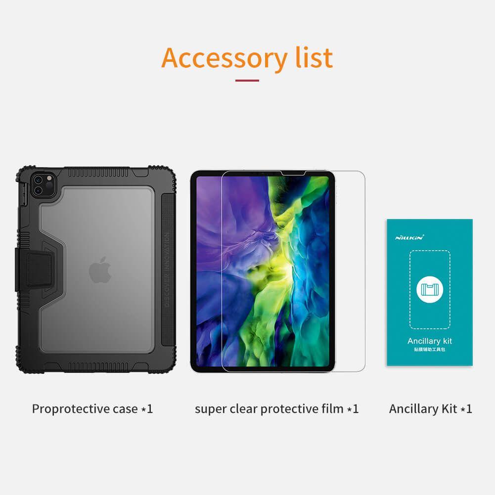 کیف کلاسوری نیلکین مدل  PAD CASE مناسب برای تبلت اپل IPad Pro 11 2020 thumb 2 8