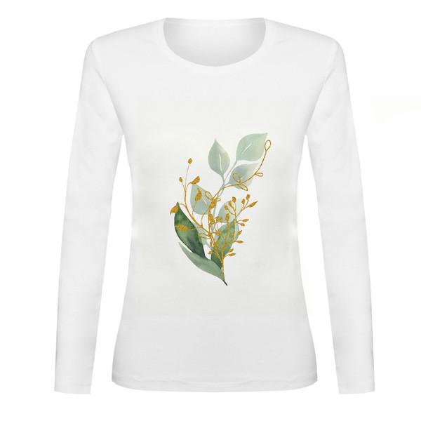 تی شرت آستین بلند زنانه مدل SB991105-003