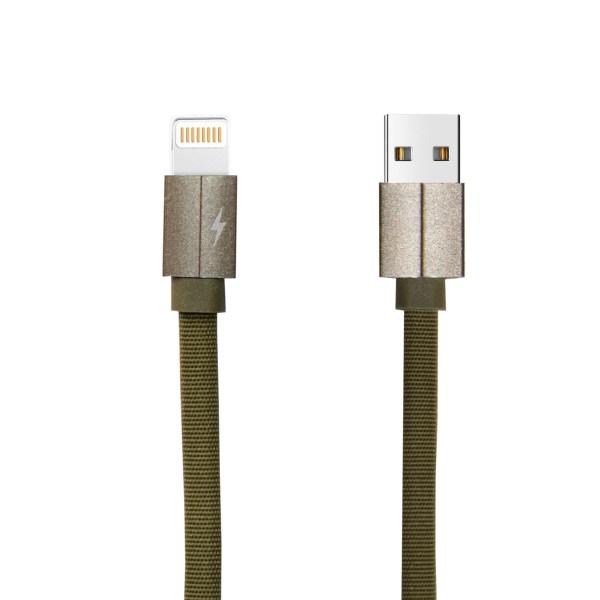 کابل تبدیل USB به لایتنینگ مدل FPC طول 0.25 متر