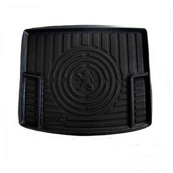 کفپوش سه بعدی صندوق خودرو کد04 مناسب برای پژو206 صندوقدار