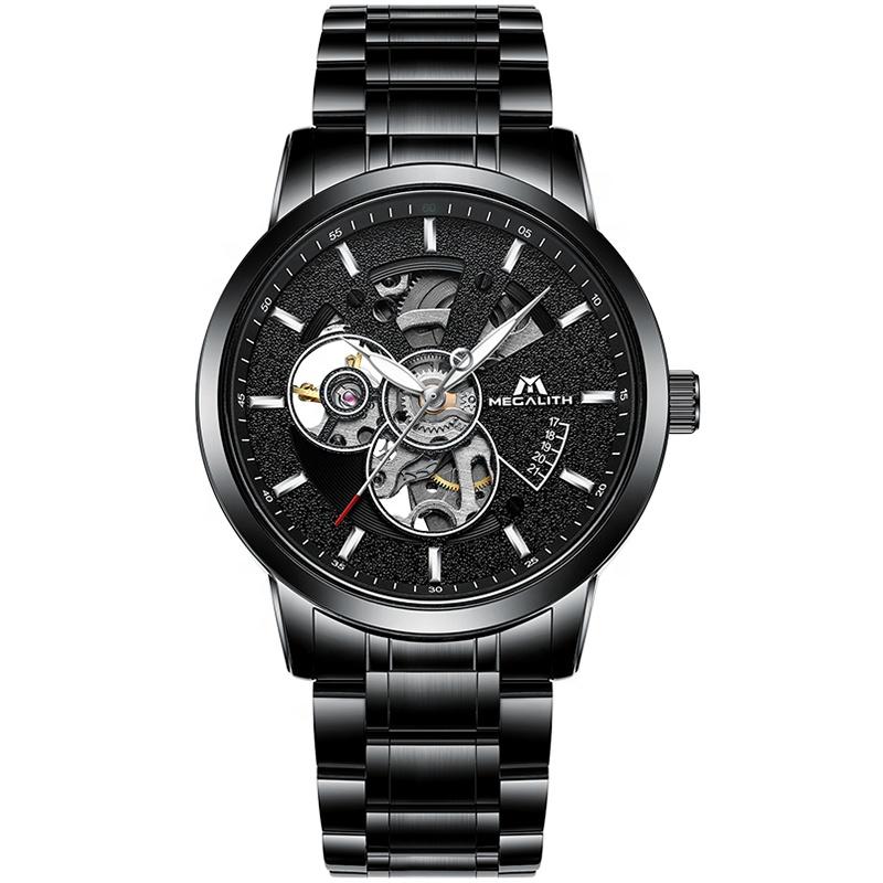 ساعت مچی عقربه ای مردانه مگالیت مدل 8070-BLK
