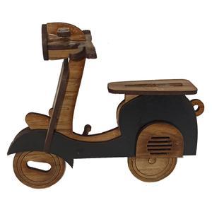 ماکت دکوری چوبی مدل موتور