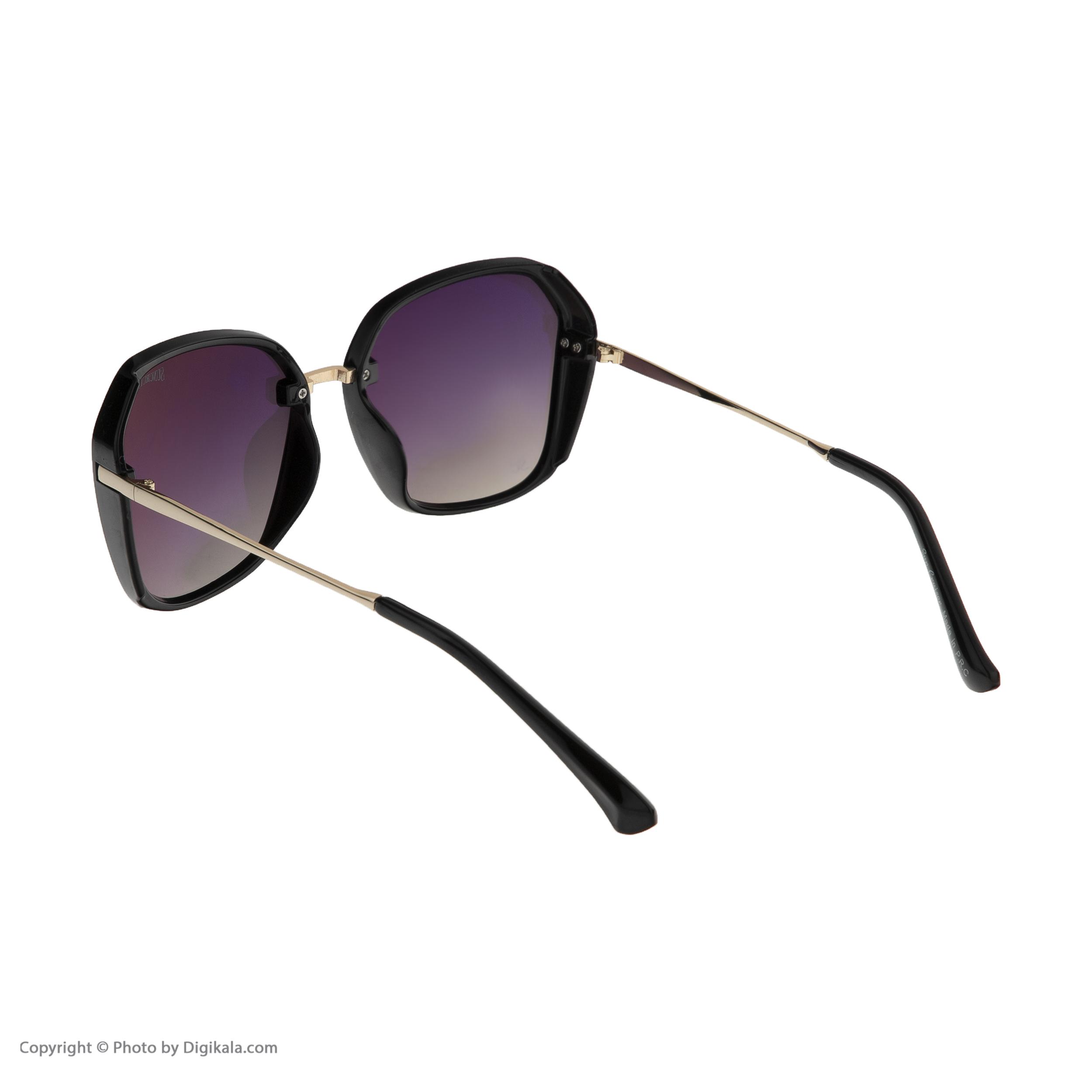 عینک آفتابی زنانه سانکروزر مدل 6002 -  - 5