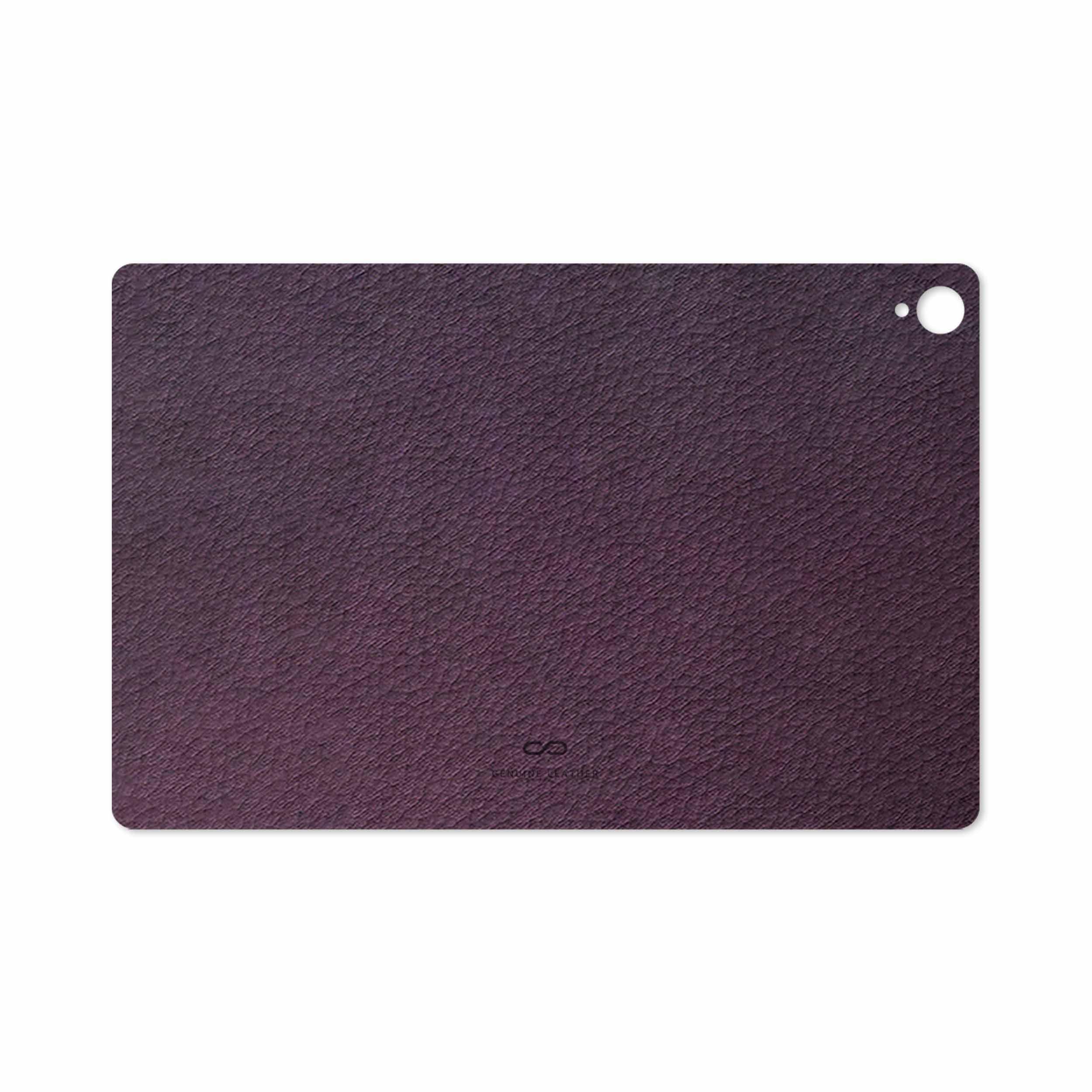 بررسی و خرید [با تخفیف]                                     برچسب پوششی ماهوت مدل Purple-Leather مناسب برای تبلت هوآوی Mediapad M6 10.8 2019                             اورجینال