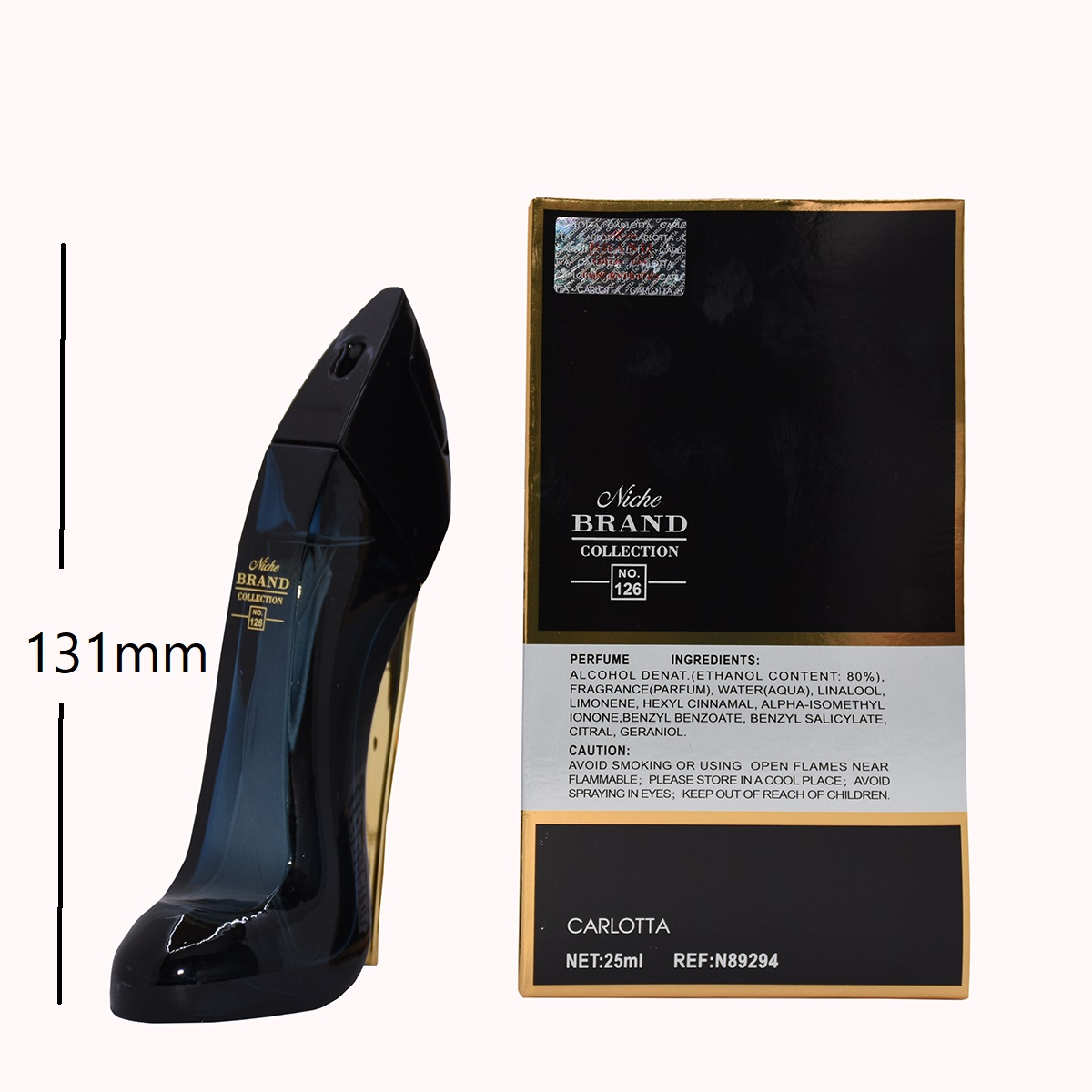 عطر جیبی زنانه نیچ برند کالکشن مدل 126- good girl حجم 25 میلی لیتر