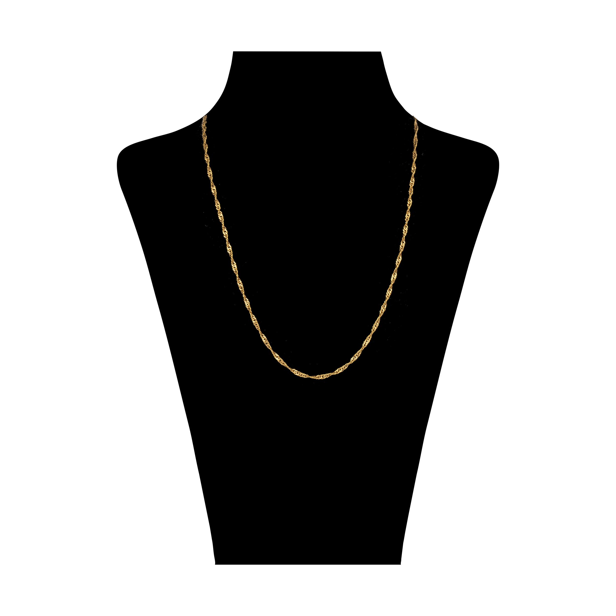 زنجیر طلا 18 عیار زنانه گالری آلند کد TZ35