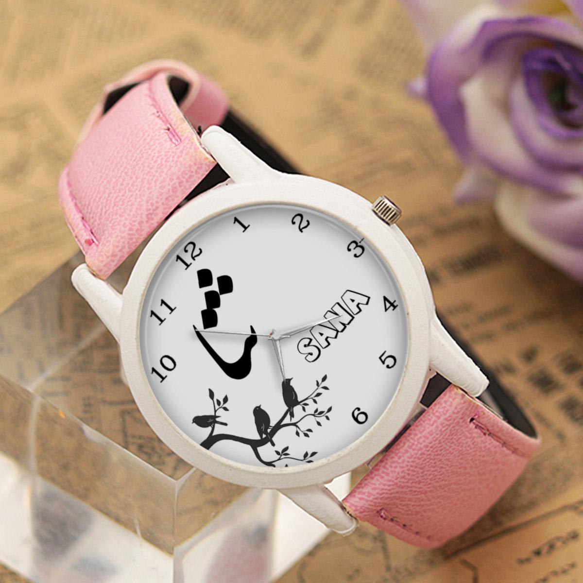 ساعت مچی عقربه ای زنانه طرح ثنا کد LF3177              خرید (⭐️⭐️⭐️)