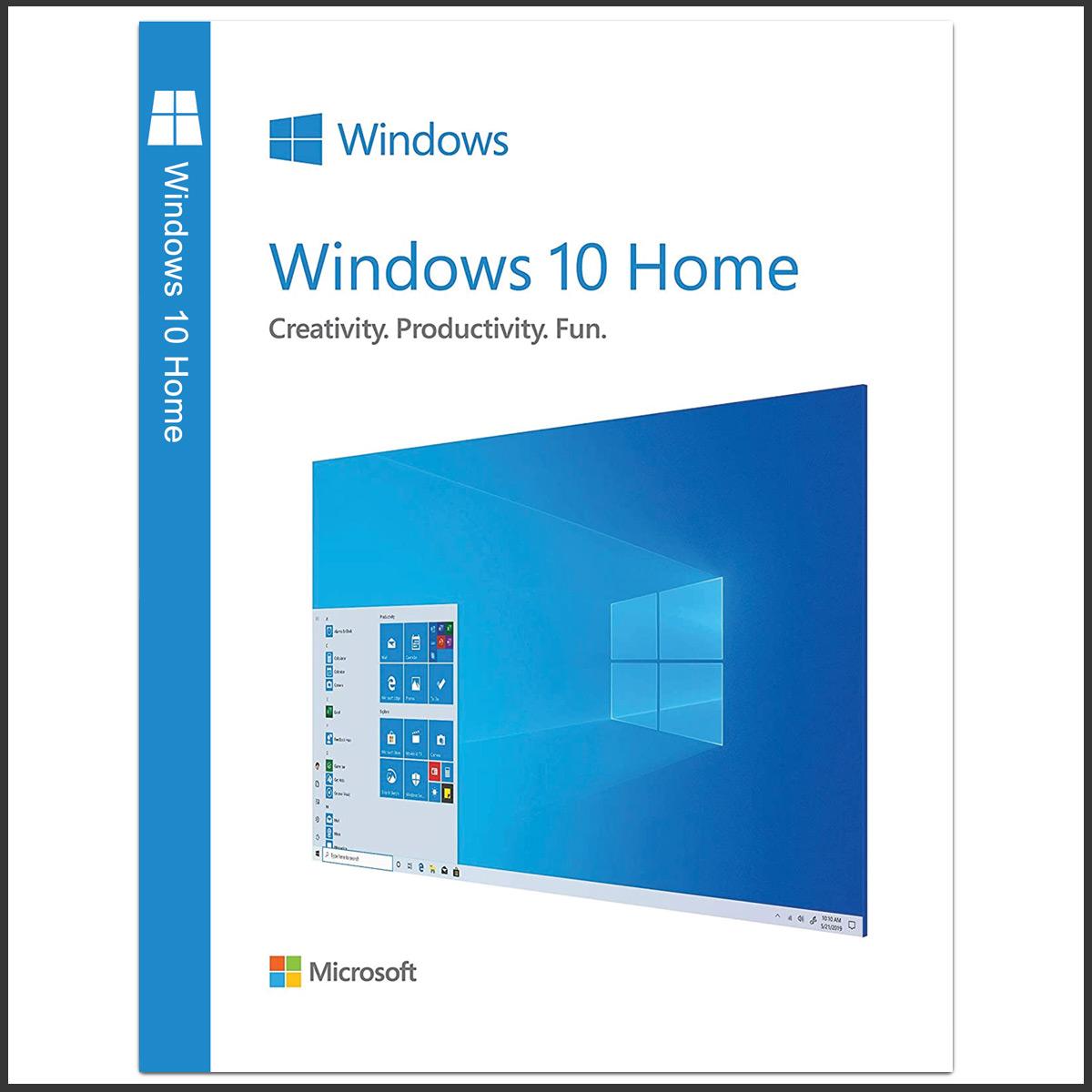 مایکروسافت ویندوز ۱۰ نسخه هوم ادیشن- لایسنس OEM