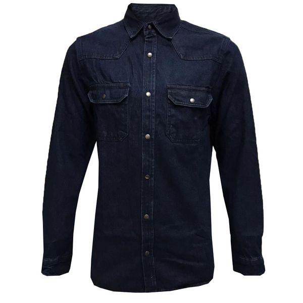 پیراهن آستین بلند مردانه مدل NCK 0238 jnsor