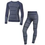ست تی شرت و لگینگ ورزشی زنانهکرویت پرو مدل IAN-315606 thumb