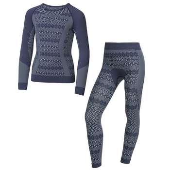 ست تی شرت و لگینگ ورزشی زنانهکرویت پرو مدل IAN-315606