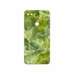 برچسب پوششی ماهوت مدل Green Crystal Marble مناسب برای گوشی موبایل شیائومی Mi 8 Lite