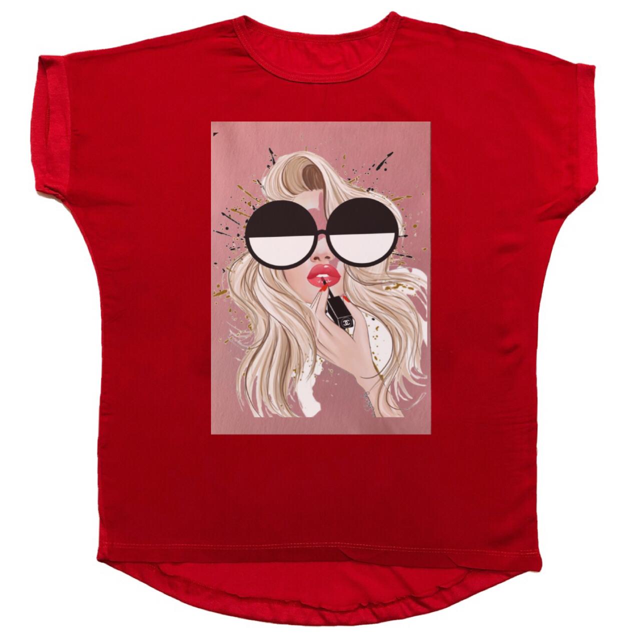 تی شرت زنانه مدل 1006