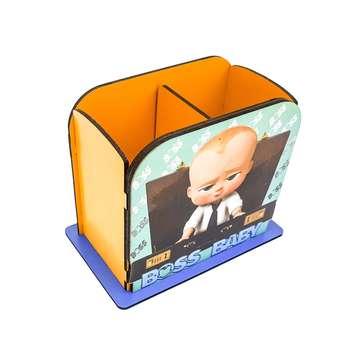 جامدادی رومیزی مدل بچه رییس کد 3141