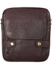 کیف دوشی چرم نیروانا کد 516 -  - 1