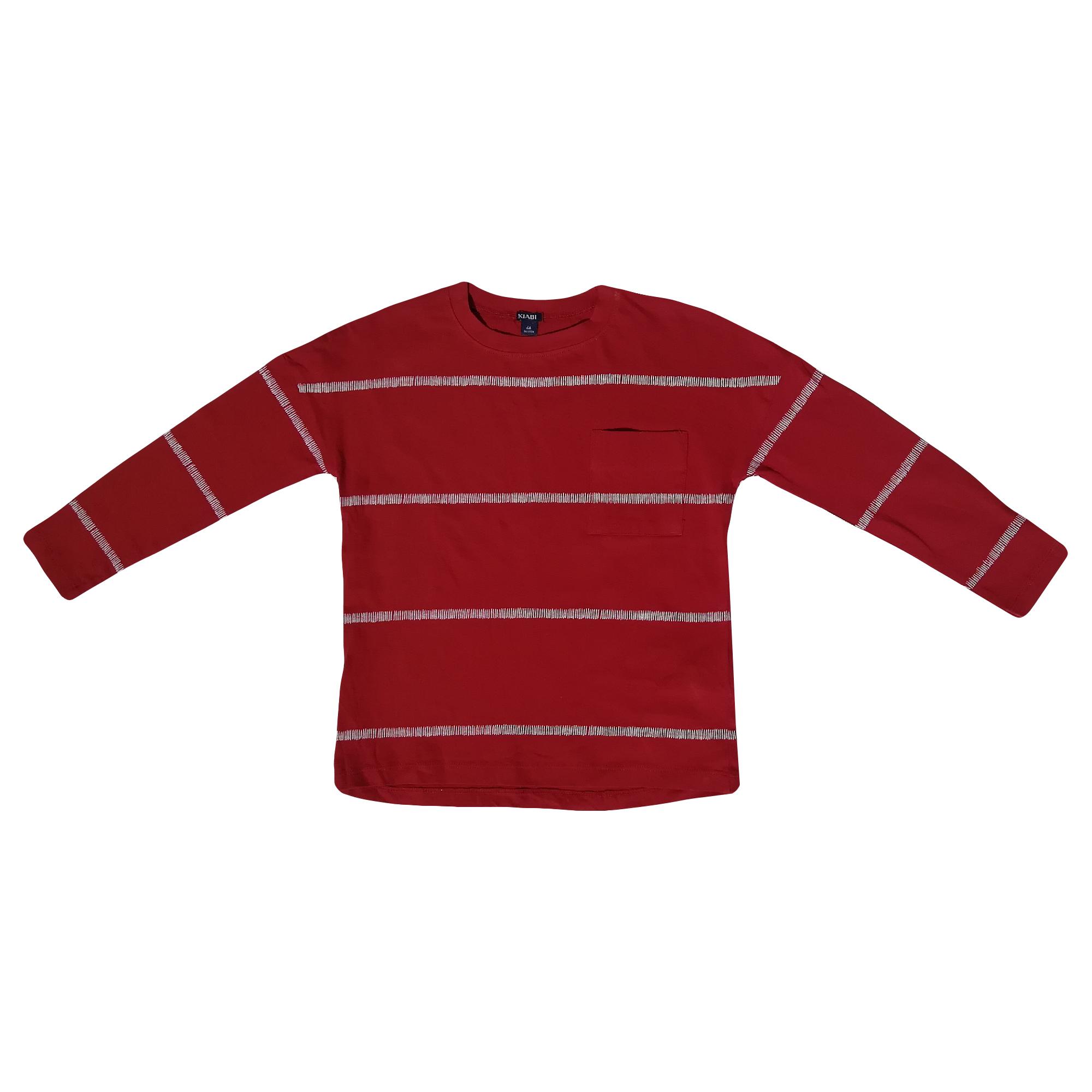تی شرت آستین بلند پسرانه کیابی کد 10066-2