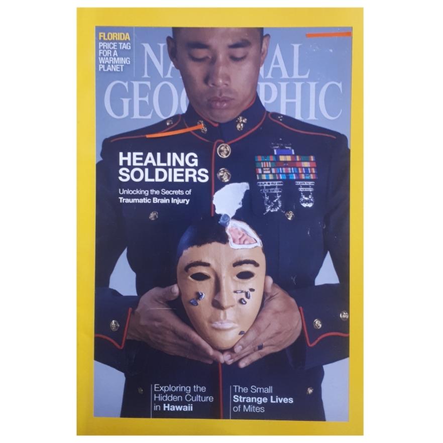 مجله نشنال جئوگرافیک فوريه 2015