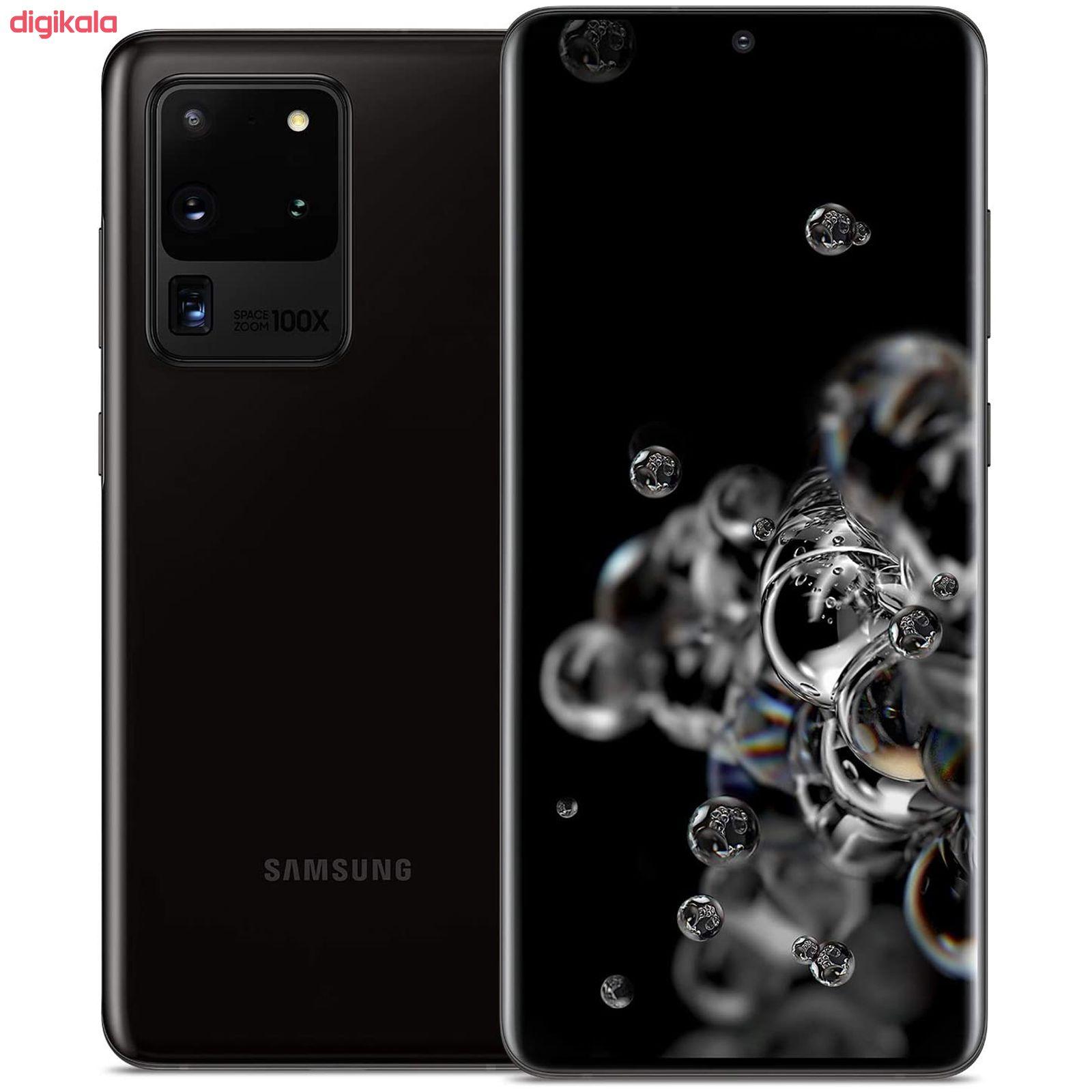گوشی موبایل سامسونگ مدل  Galaxy S20 Ultra SM-G988B/DS دو سیم کارت ظرفیت 128 گیگابایت  main 1 6