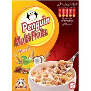 میوسلی میوه ای پنگوئن -375 گرم