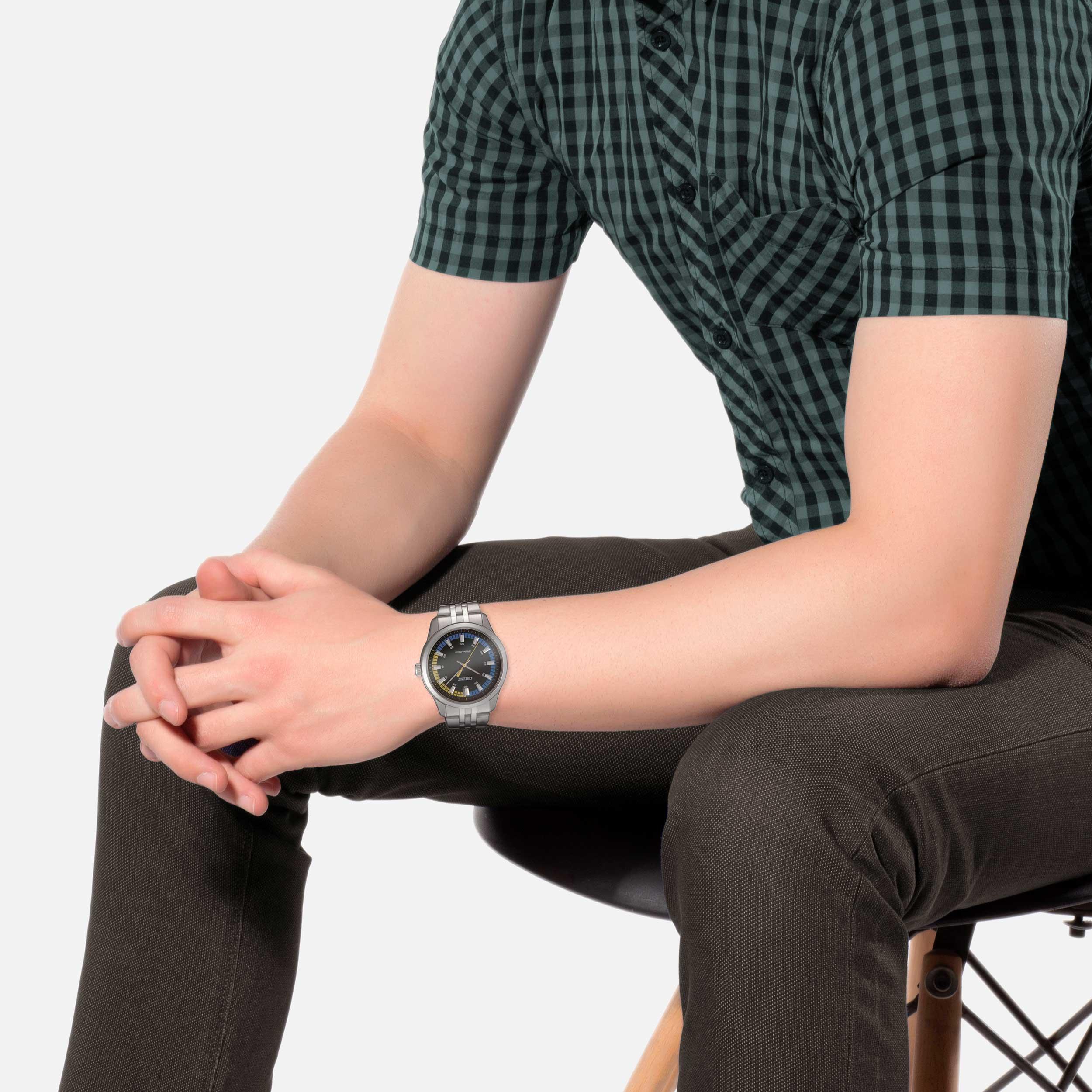 ساعت مچی عقربهای مردانه اورینت مدل SQC0U005FO