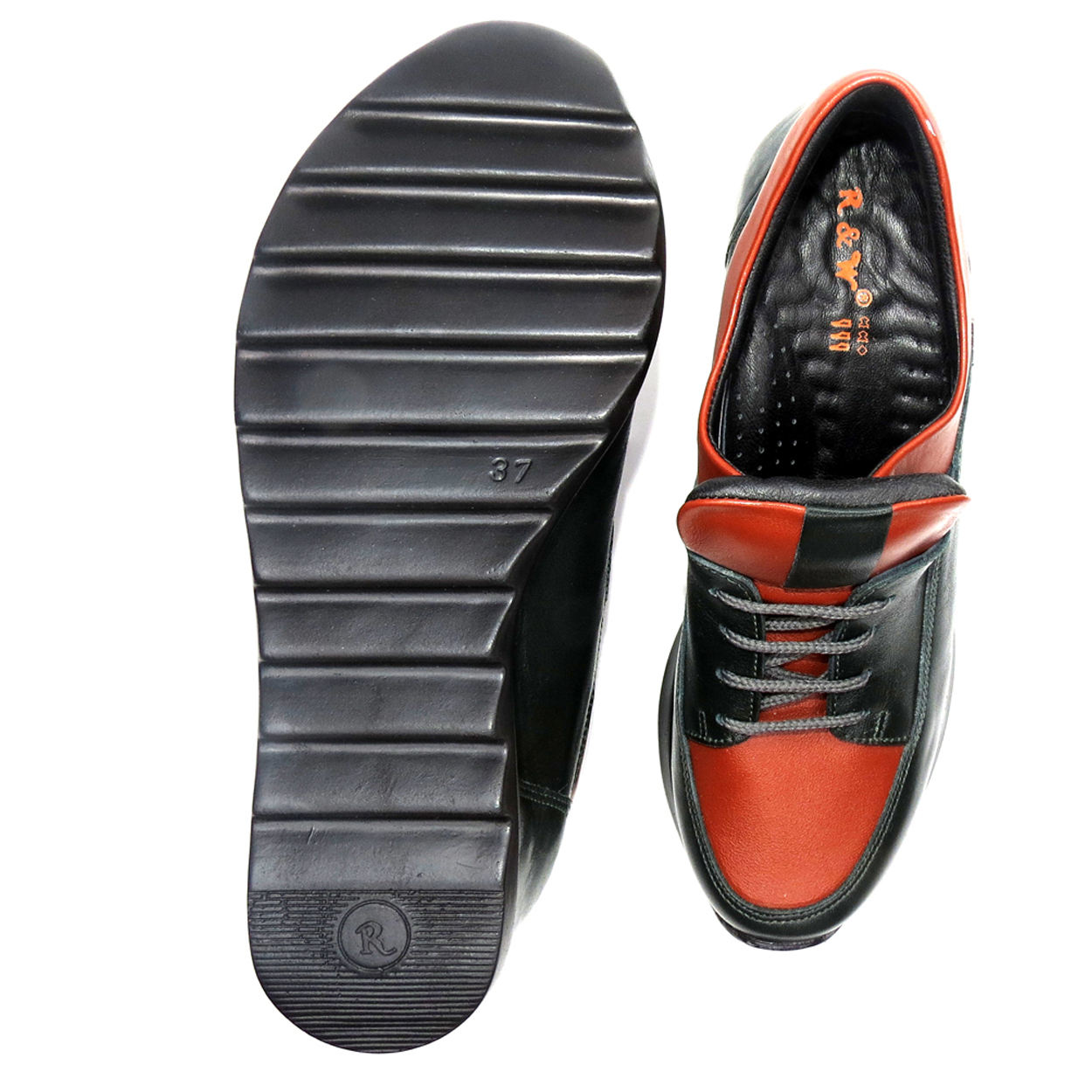 کفش روزمره زنانه آر اند دبلیو مدل 416 رنگ یشمی -  - 5
