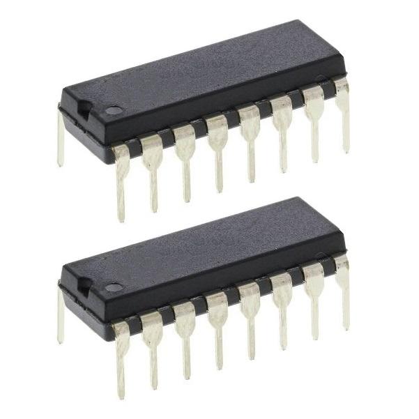 آی سی تقسیم کننده موتورولا مدل MC1 4017 BCP بسته 2 عددی
