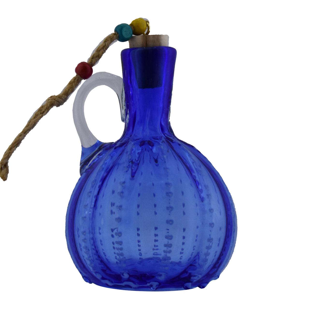 خرید                      بطری شیشه ای مدل نگینی کد 629