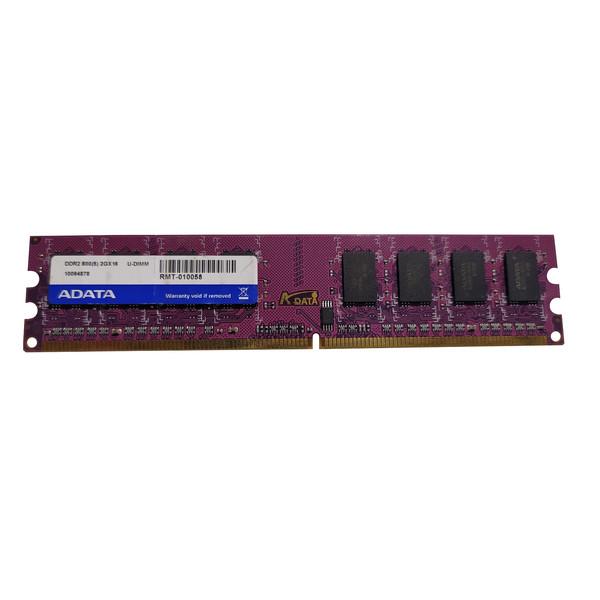 رم دسکتاپ DDR2 تک کاناله 800 مگاهرتز CL6 ای دیتا مدل 10094922 ظرفیت 2 گیگابایت