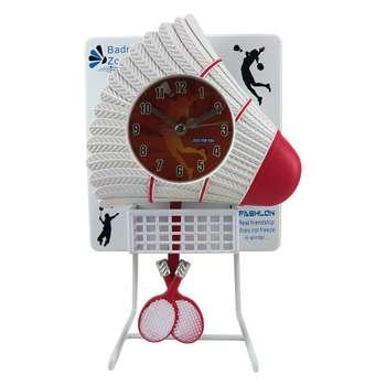 ساعت رومیزی مدل بدمینتون کد 7364