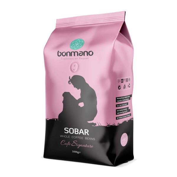 دانه قهوه اسپرسو سوبار بن مانو - 1000 گرم