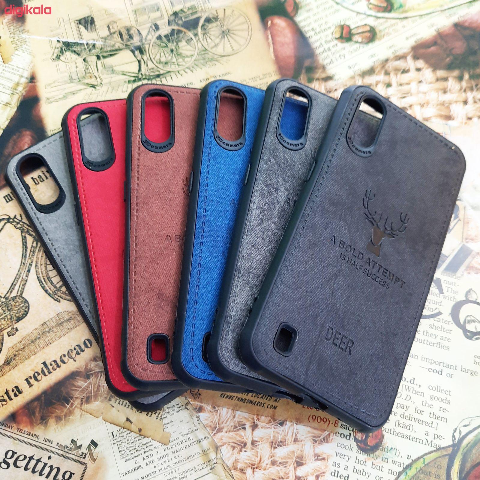 کاور مدل CO503 طرح گوزن مناسب برای گوشی موبایل سامسونگ Galaxy A01 main 1 5