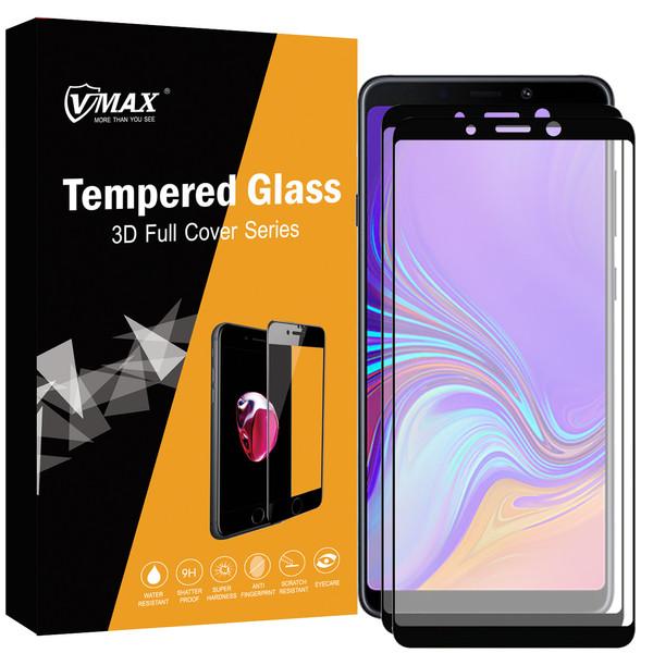 محافظ صفحه نمایش وی مکس مدل VF1 مناسب برای گوشی موبایل سامسونگ Galaxy A9 2018بسته دو عددی