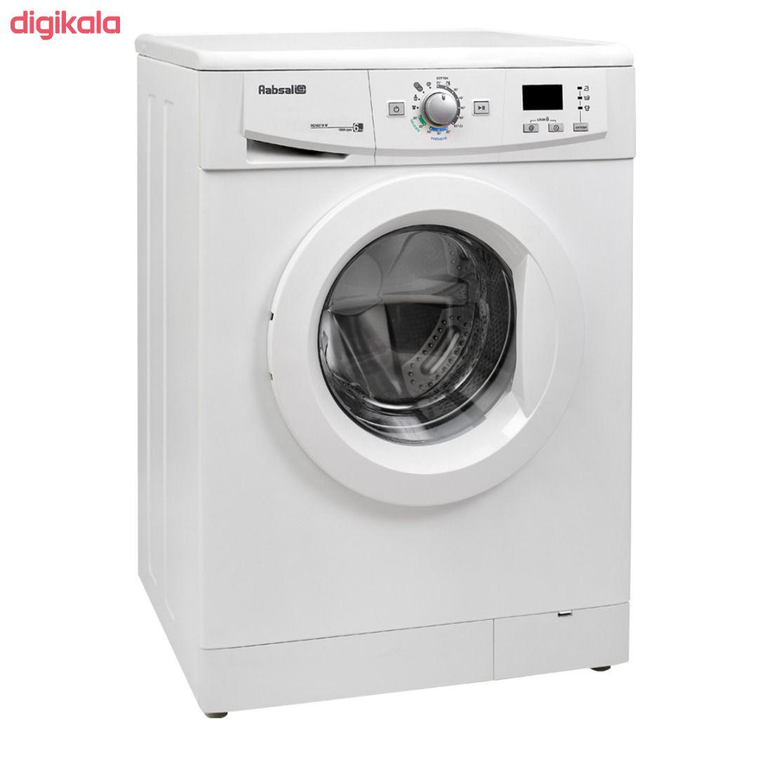 ماشین لباسشویی آبسال مدل REN6210 ظرفیت 6 کیلوگرم main 1 1
