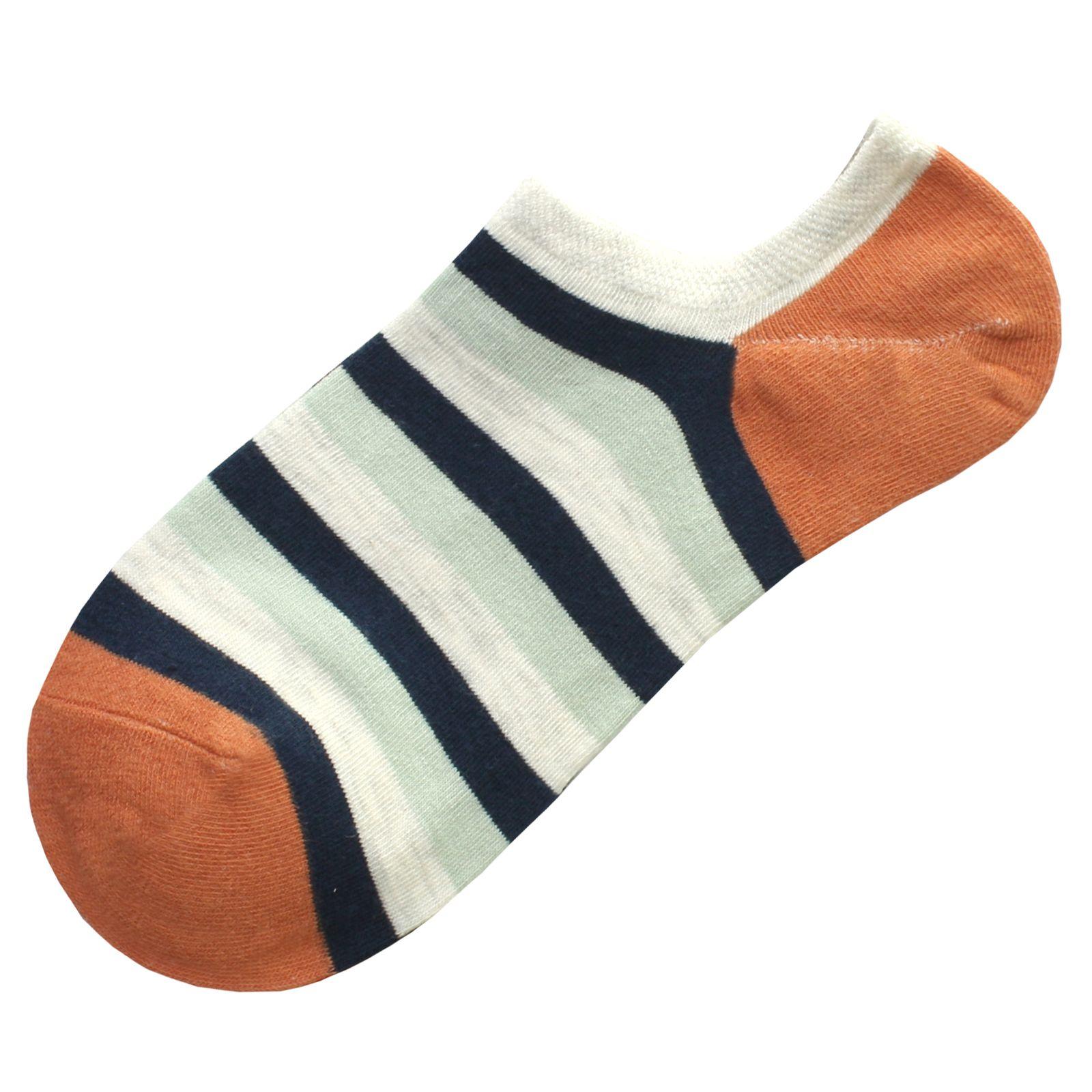 جوراب زنانه دیزر طرح راه راه کد fiory13 -  - 2