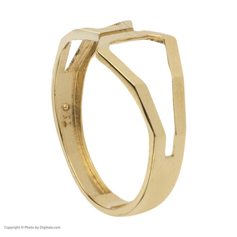 انگشتر طلا 18 عیار زنانه مدیسا مدل R1012-55