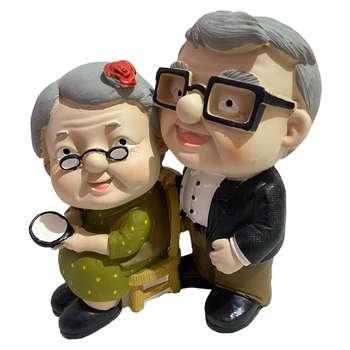 مجسمه طرح پیرمرد و پیرزن کد RM-69