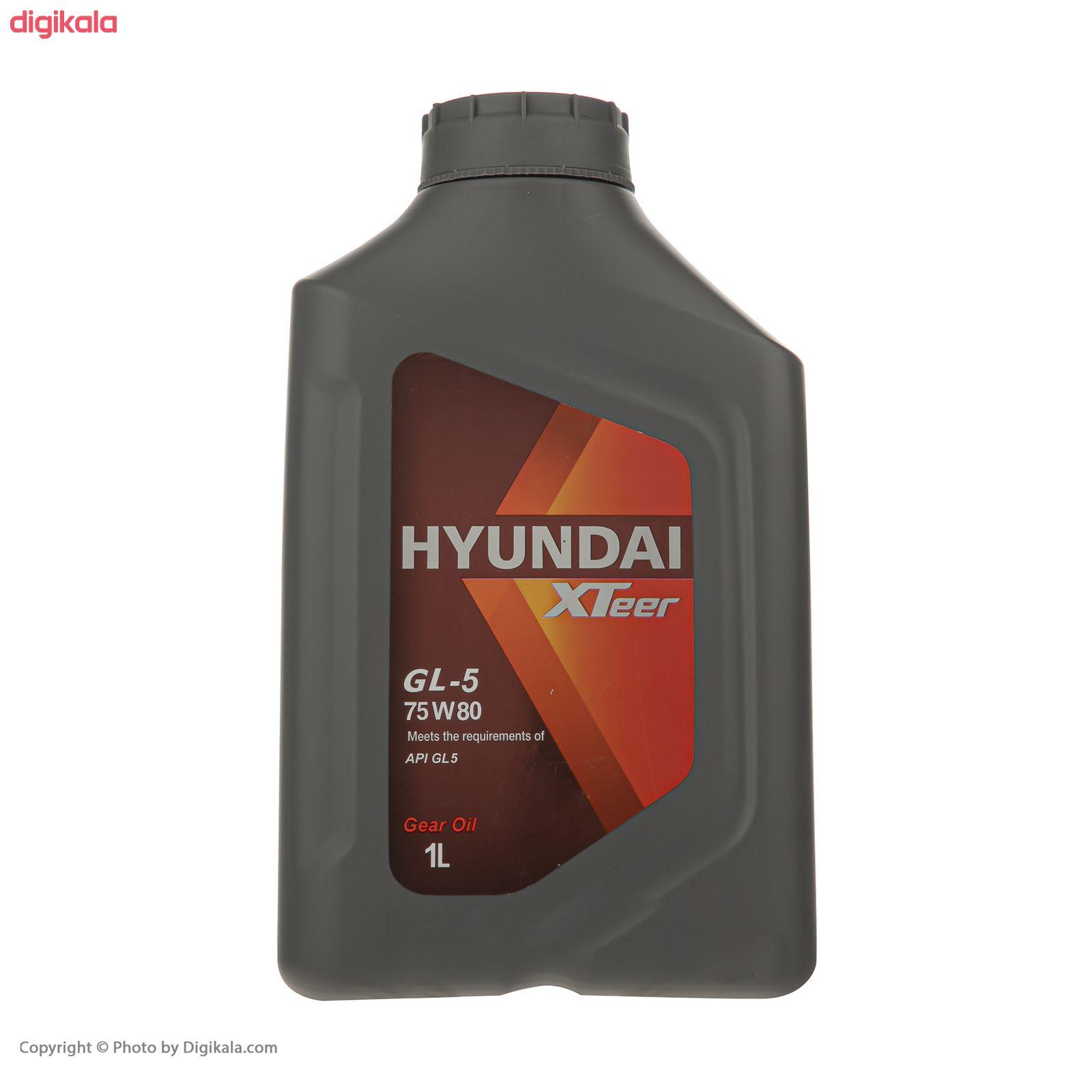روغن گیربکس خودرو هیوندای اکس تیر مدل GL-5 حجم 1 لیتر main 1 1